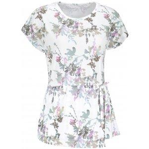 Dámské triko s krátkým rukávem ALPINE PRO KEMRA LTSN489 BÍLÁ