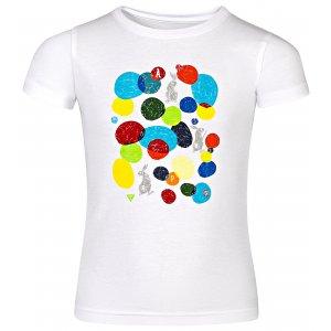 Dětské tričko s krátkým rukávem ALPINE PRO AXISO 3 KTSN154 BÍLÁ