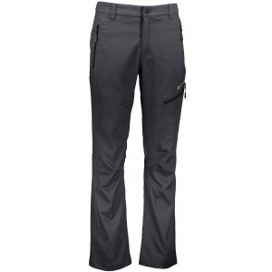 Pánské softshellové kalhoty ALPINE PRO CARB 3 MPAN331 ČERNÁ