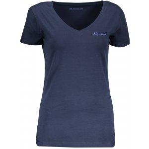 Dámské tričko s krátkým rukávem ALPINE PRO LUKA 2 LTSN344 MODRÁ