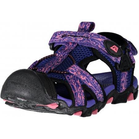 Dětské sandále ALPINE PRO BARBIELO KBTN190 FIALOVÁ