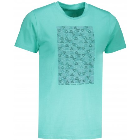 Pánské tričko s krátkým rukávem ALPINE PRO AMIT 6 MTSN365 ZELENÁ