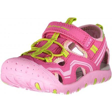 Dětské sandále ALPINE PRO CARNEO KBTN191 RŮŽOVÁ