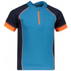 Dětské funkční tričko s krátkým rukávem ALPINE PRO SORANO KTSN163 MODRÁ