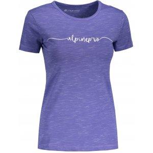 Dámské tričko s krátkým rukávem ALPINE PRO ROZENA 5 LTSN428 MODRÁ