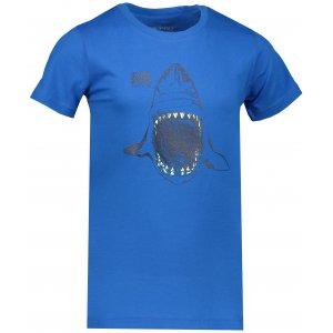 Dětské tričko s krátkým rukávem ALPINE PRO SPORO KTSN166 MODRÁ POTISK