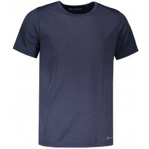 Pánské funkční tričko s krátkým rukávem ALPINE PRO NASMAS 2 MTSN265 TMAVĚ MODRÁ