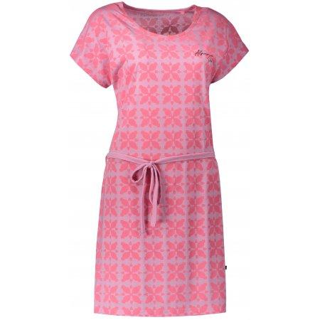 Dámské šaty ALPINE PRO EKEA LSKN179 RŮŽOVÁ