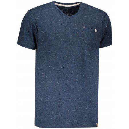 Pánské tričko s krátkým rukávem ALPINE PRO BIALON MTSN363 MODRÁ