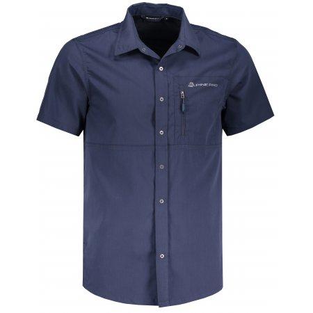 Pánská košile ALPINE PRO LURIN 3 MSHN032 MODRÁ
