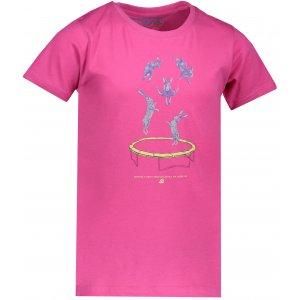Dětské tričko s krátkým rukávem ALPINE PRO DODGO 2 KTSN158 RŮŽOVÁ