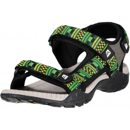 Pánské sandále ALPINE PRO RIAN UBTN186 ZELENÁ