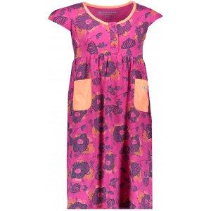 Dívčí šaty ALPINE PRO SARKO KSKN048 RŮŽOVÁ