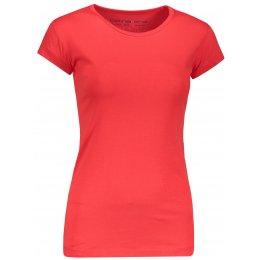 Dámské triko s krátkým rukávem ALPINE PRO KREJA LTSN564 ČERVENÁ