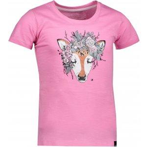 Dětské triko s krátkým rukávem ALPINE PRO ZALIKO KTSN174 RŮŽOVÁ