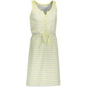 Dívčí šaty ALPINE PRO GOGO KSKN049 ŽLUTÁ