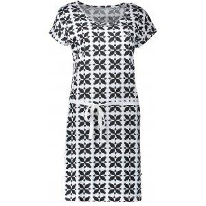 Dámské šaty ALPINE PRO EKEA LSKN179 ČERNÁ
