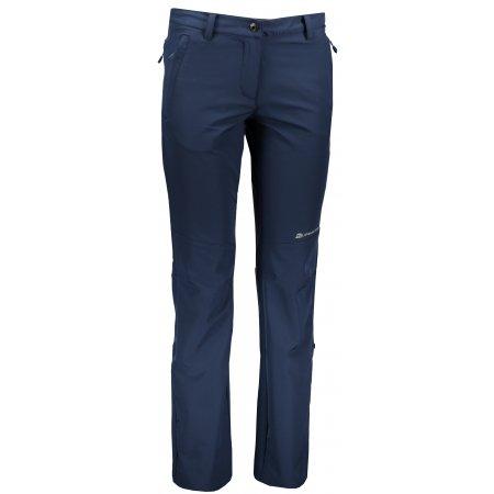 Dámské softshellové kalhoty ALPINE PRO HYPSEUS 3 LPAN308 MODRÁ