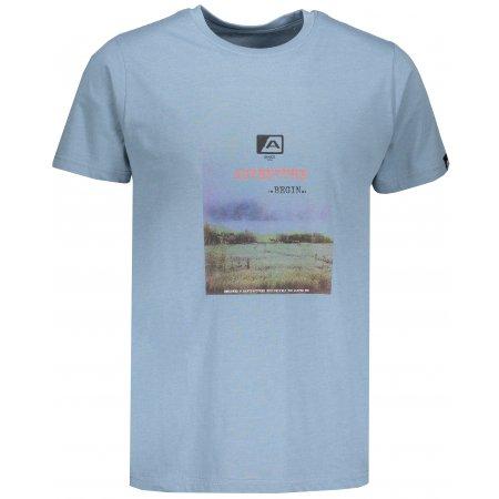 Pánské tričko s krátkým rukávem ALPINE PRO TIBERIO 7 MTSN364 MODRÁ
