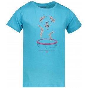 Dětské tričko s krátkým rukávem ALPINE PRO DODGO 2 KTSN158 SVĚTLE MODRÁ