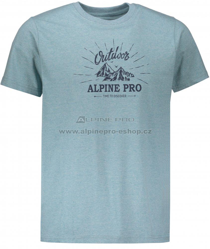 bbe7de425d14 Pánské tričko s krátkým rukávem ALPINE PRO MARV 2 MTSN353 ZELENÁ ...