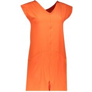 Dámské sportovní šaty ALPINE PRO VAKIA 2 LSKN149 ORANŽOVÁ