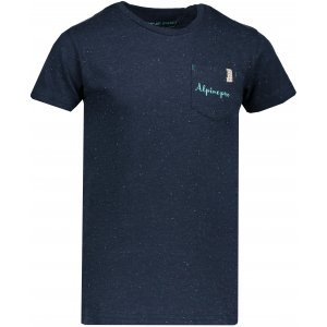Dětské tričko s krátkým rukávem ALPINE PRO GANGO KTSN160 MODRÁ