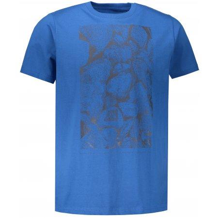 Pánské tričko s krátkým rukávem ALPINE PRO UNEG 6 MTSN354 MODRÁ