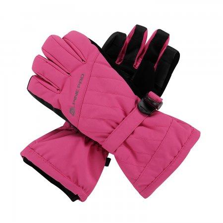 Dámské rukavice ALPINE PRO RENA LGLP014 RŮŽOVÁ