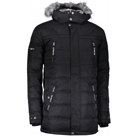 Pánská zimní bunda ALPINE PRO ICYB 5 MJCP361 ČERNÁ