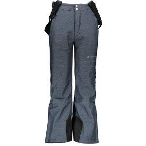 Dětské lyžařské kalhoty ALPINE PRO NEXO 3 KPAP175 TMAVĚ MODRÁ