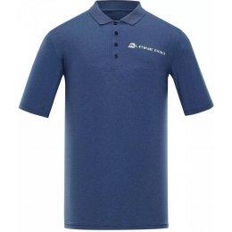 Pánské funkční triko ALPINE PRO FRID MTSP506 SVĚTLE MODRÁ