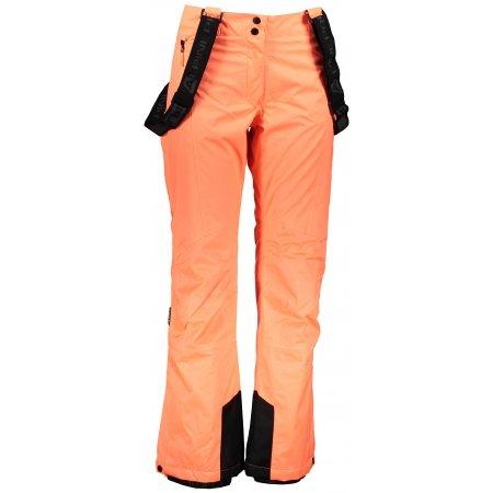 Dámské lyžařské kalhoty ALPINE PRO ANIKA LPAP361 ORANŽOVÁ