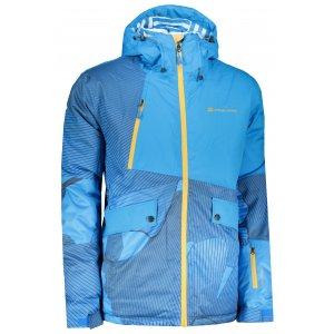 Pánská lyžařská bunda ALPINE PRO MAKER MJCP373 SVĚTLE MODRÁ