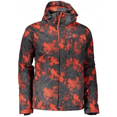 Pánská lyžařská bunda ALPINE PRO GLARNISH 5 MJCP370 ČERVENÁ