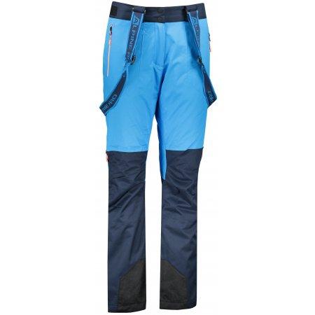 Dámské lyžařské kalhoty ALPINE PRO NUDDA 4 LPAP360 SVĚTLE MODRÁ