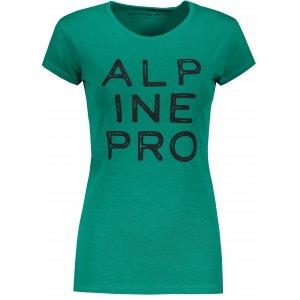 Dámské triko ALPINE PRO JAVONA LTSP647 ZELENÁ