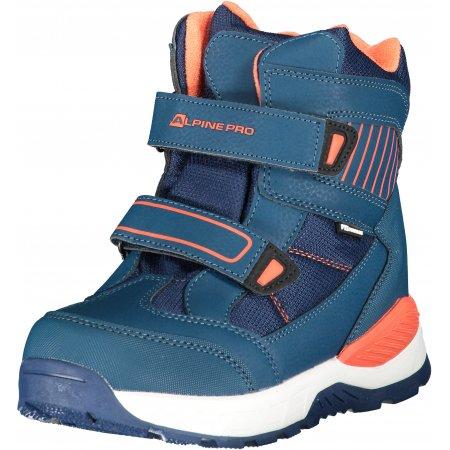 Dětské zimní boty ALPINE PRO ROWANO KBTP202 TMAVĚ MODRÁ