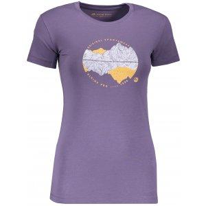 Dámské triko ALPINE PRO UNEGA 6 LTSP505 FIALOVÁ