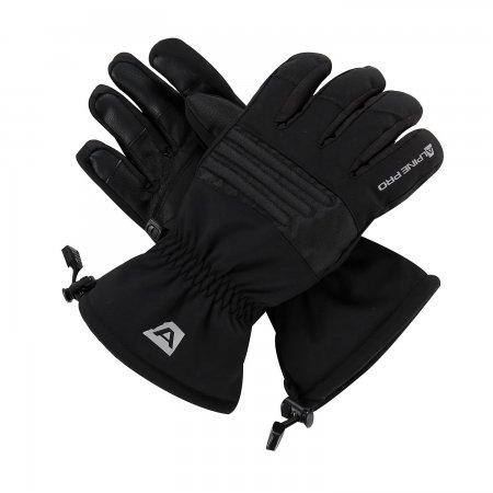 Lyžařské rukavice ALPINE PRO KAROG UGLP013 ČERNÁ