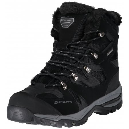 Pánské zimní boty ALPINE PRO ALD MBTP188 ČERNÁ