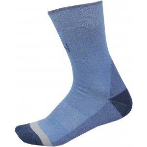 Ponožky ALPINE PRO TRIN USCP059 TMAVĚ MODRÁ