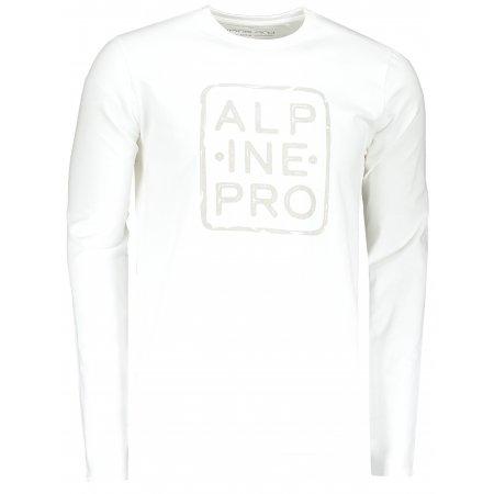 Pánské triko ALPINE PRO BRIGER MTSP517 BÍLÁ