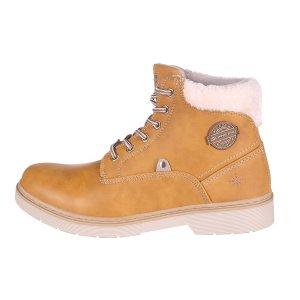 Dámské zimní boty ALPINE PRO LUTAKA LBTP214 BÉŽOVÁ