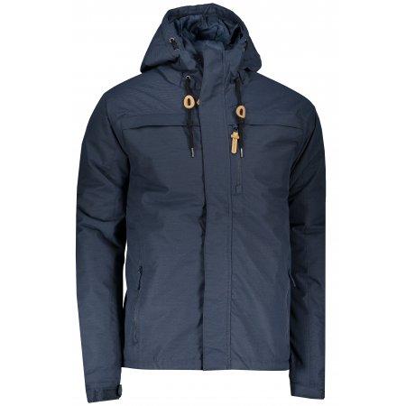 Pánská zimní bunda ALPINE PRO BROCK MJCP343 TMAVĚ MODRÁ