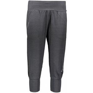 Dámské 3/4 kalhoty ALPINE PRO DARIANA 2 LPAP305 TMAVĚ ŠEDÁ