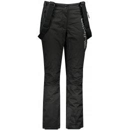 Dámské lyžařské kalhoty ALPINE PRO PADIA LPAP370 ČERNÁ