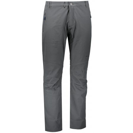 Pánské softshellové zateplené kalhoty ALPINE PRO CARB 3 INS. MPAP378 TMAVĚ ŠEDÁ