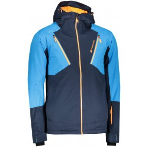 Pánská lyžařská bunda ALPINE PRO MIKAER 3 MJCP368 TMAVĚ MODRÁ