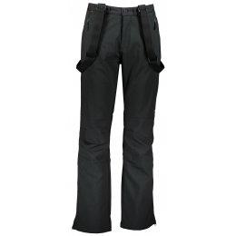 Pánské zimní softshellové kalhoty ALPINE PRO AMID 3 MPAP321 ČERNÁ